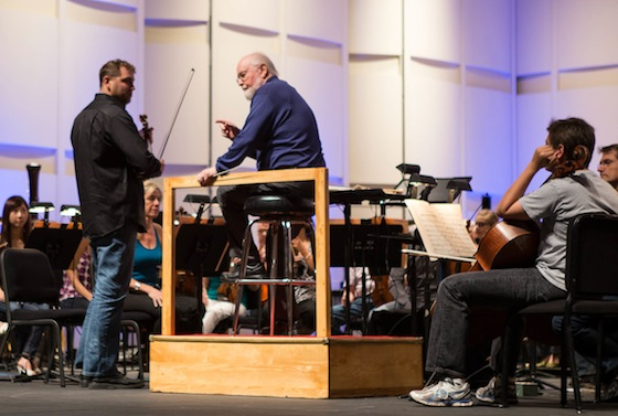 John Williams: Photo by Melissa Fossum