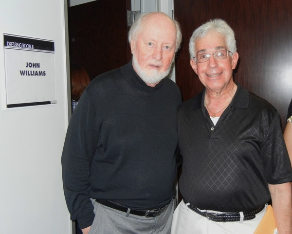 John Williams and Steve Vertlieb